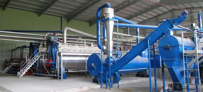 Dây chuyền sản xuất dầu cá và bột cá